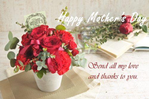 母の日,フラワーアレンジ,カーネーション,バラ,配達,発送,フラワーギフト,プレゼント