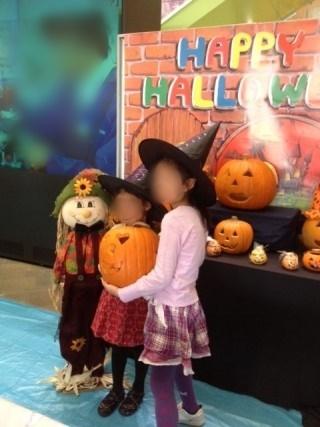 ハロウィン,仮装,子ども
